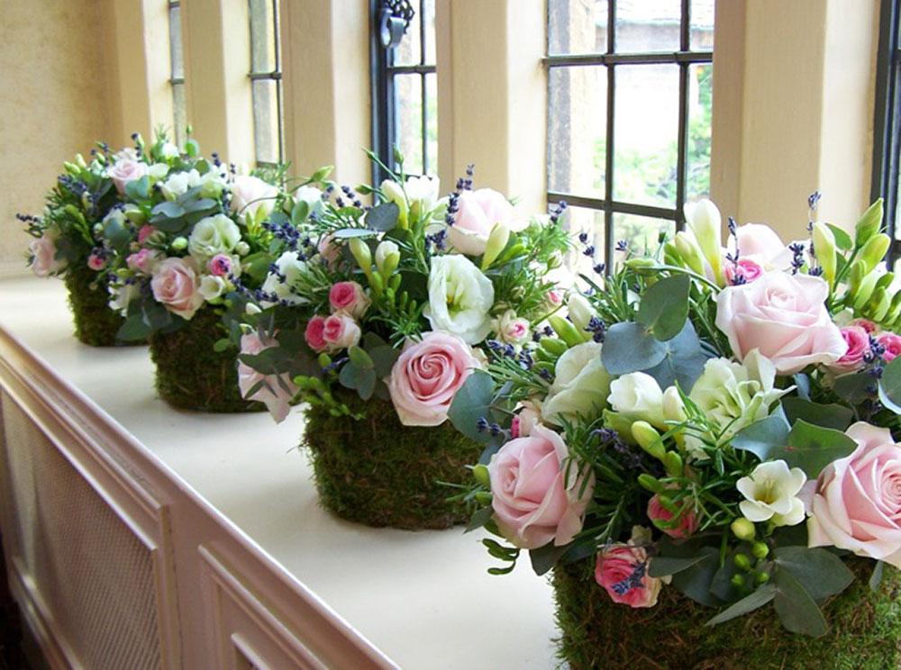 Broadway Florist Wedding Reception 36