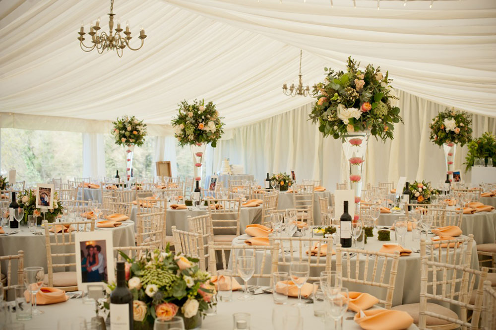 Broadway Florist Wedding Reception 23